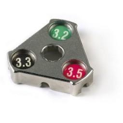 Herramienta triangular radios gurpil