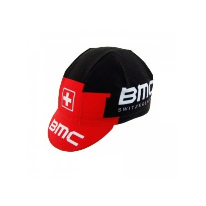 Gorra ciclista BMC 2015 roja