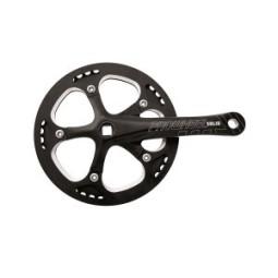 Bielas bicicleta prowheel Solid color negro
