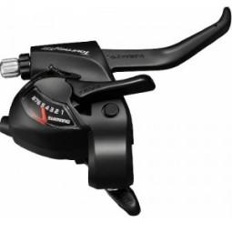 Maneta dual control 8 velocidades shimano tourney