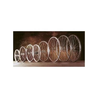 Rueda clásica bicicleta varillas delantera 700x35B