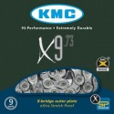 Cadena KMC X9 bicicleta