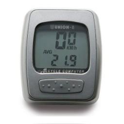 Cuentakilómetros color plata 8 funciones