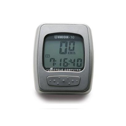 Cuentakilómetros color plata 10 funciones