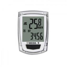 Cuentakilómetros bicicleta blanco 9 funciones