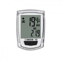 Cuentakilómetros bicicleta blanco 12 funciones