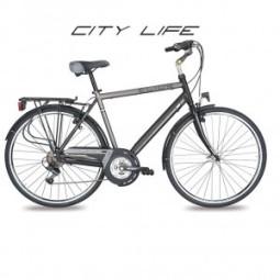 Bicicleta paseo hombre barra recta Cicli Elios city