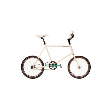 Bicicleta minivelo Kamikaze color blanca