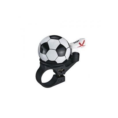 Timbre bicicleta forma balón fútbol