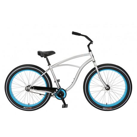 Bicicleta cruiser sun cruz plata
