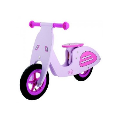 Bicicleta infantil vespa madera