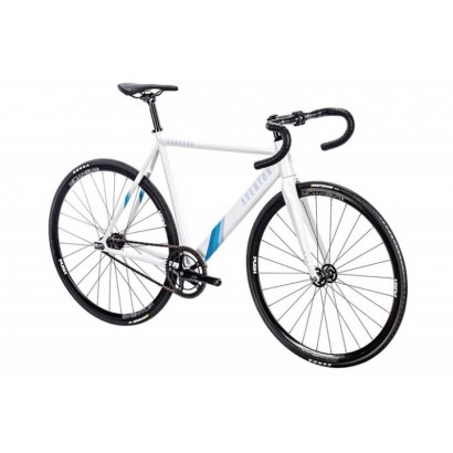 Bicicleta pista Aventon Cordoba blanca