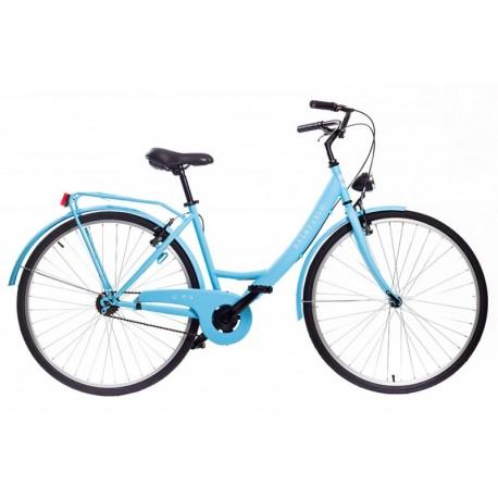 Bicicleta saint velo color celeste 1 velocidad