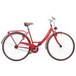 Bicicleta saint velo color roja 1 velocidad