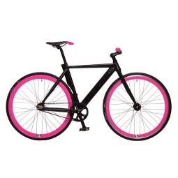 Bicicleta derail negra rosa rd42 2017