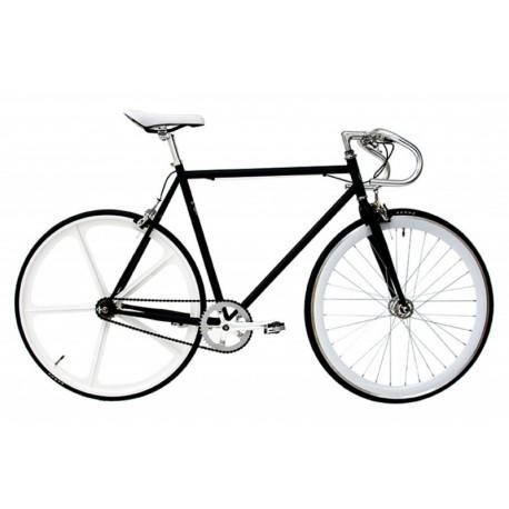 Bicicleta fixie Lanzarote negra