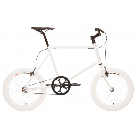 Bicicleta minivelo 1 velocidad 48 blanca