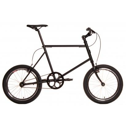 Bicicleta minivelo 1 velocidad 48 negra