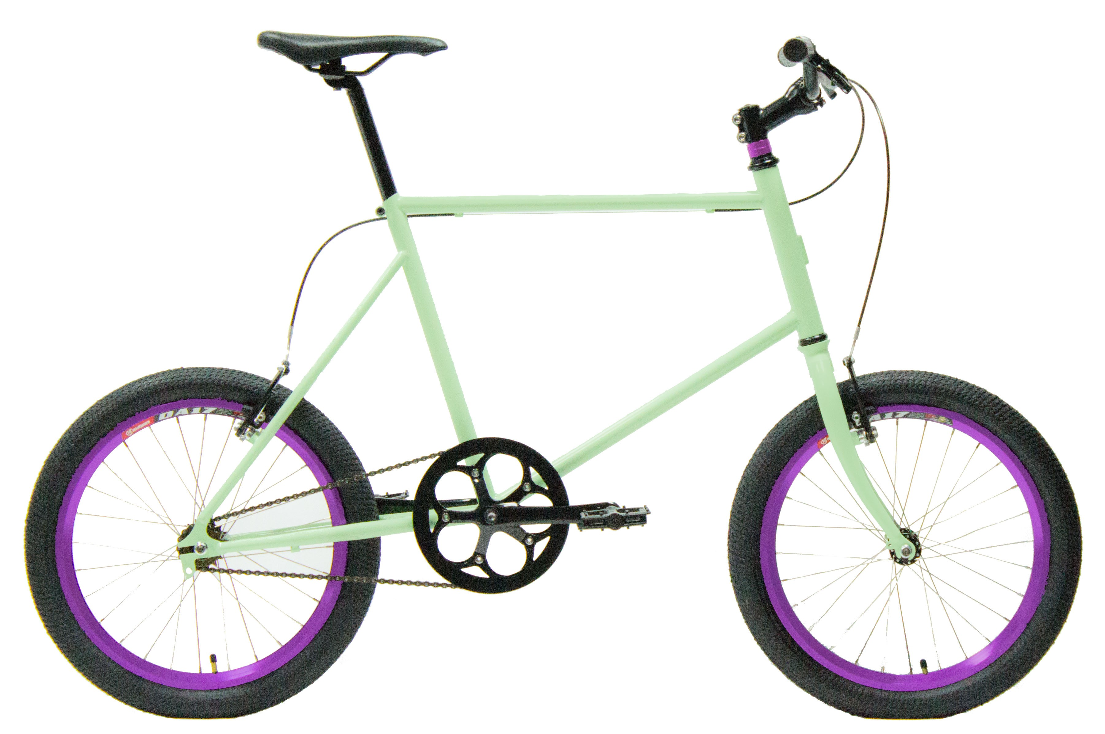 Bicicleta saint velo color salmón 1 velocidad