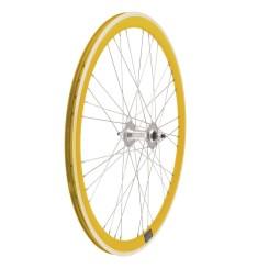 Set ruedas fixie 9x4 perfil 40mm colores