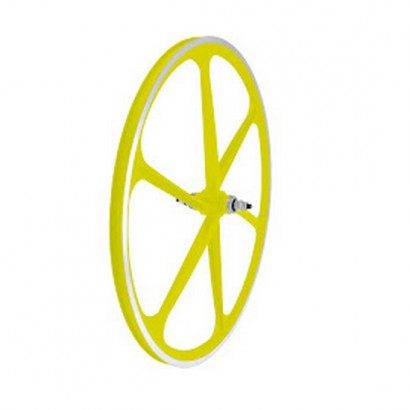 Set ruedas palos magnesio banda mecanizada