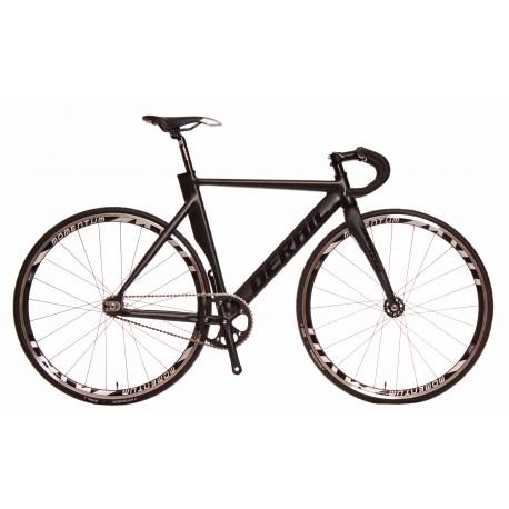 Bicicleta derail pista color negro