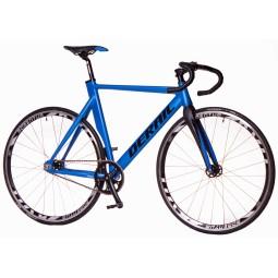 Bicicleta derail pista color azul