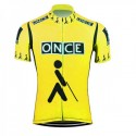 Maillot ciclismo once amarillo