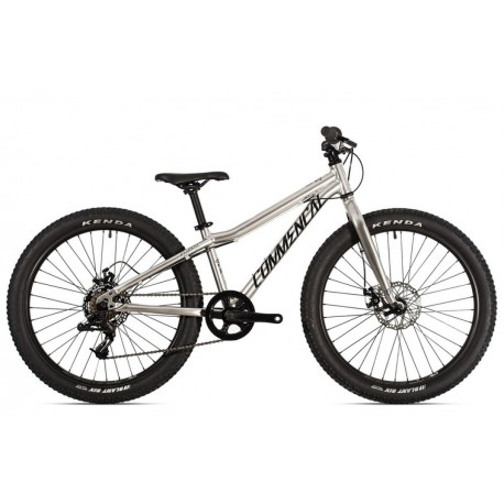 Bicicleta commencal 24 pulgadas plata