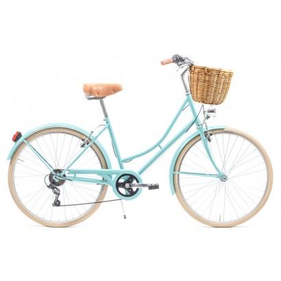 Bicicleta paseo capri valentina 6 velocidades