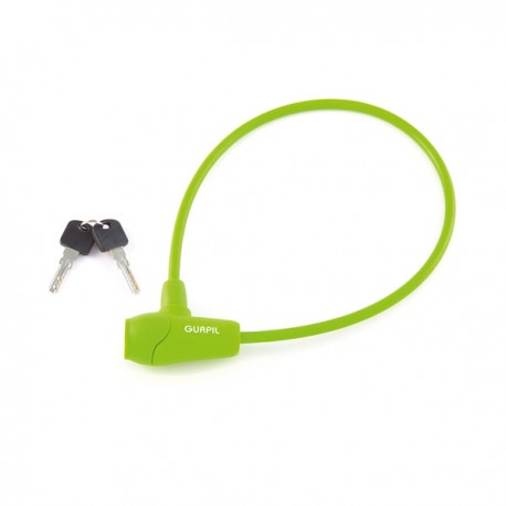 Candado seguridad silicona gurpil verde