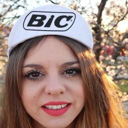 Gorra ciclista Bic