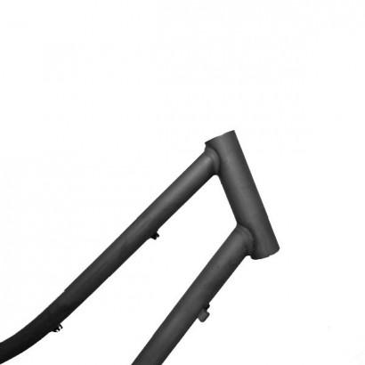 Cuadro bicicleta chica barra baja