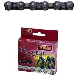 Cadena bicicleta YBN YABAN S50 6-7 v
