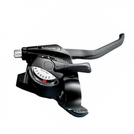Maneta dual control derecha 8 velocidades cambio shimano