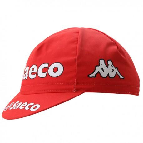 Gorra equipo saeco roja