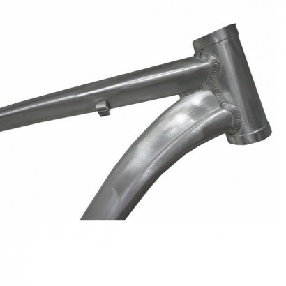 Cuadro 29 mtb aluminio pulido hidroformado