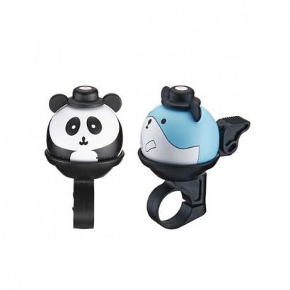 Timbre animado panda hamster