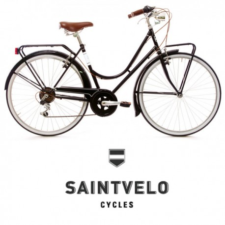 Bicicleta Saint Velo Cirella mujer negra