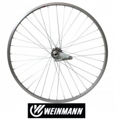 Rueda paseo contrapedal weinmann 700x28/35c cromo