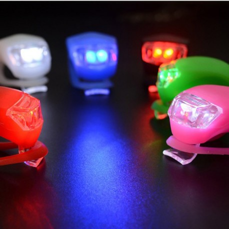 Luz led seguridad colores