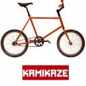 Bicicleta minivelo Kamikaze color naranja