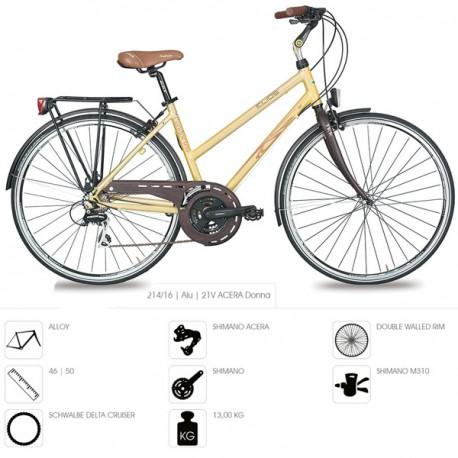 Bicicleta paseo mujer Cicli Elios modelo condorino donna