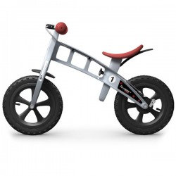 Bicicleta niño Firstbike Cross sin freno Gris