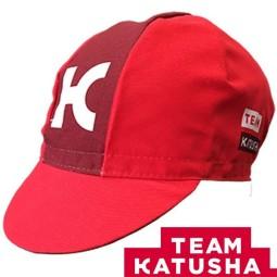 Gorra ciclista teka team katusha 2017