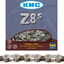 Cadena bicicleta KMC Z8s cromo/gris 7/8v