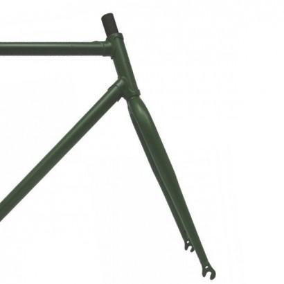 Cuadro pista clásico color verde militar