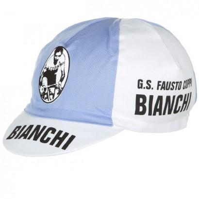 Gorra ciclista Bianchi Fausto Coppi