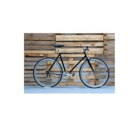 Bicicleta 6 negra-cromo