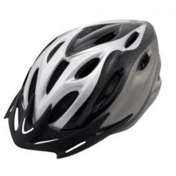 Casco ciclismo negro-gris